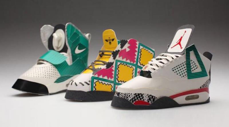 Sneaker bungkus rokok