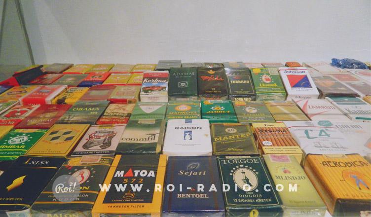 koleksi bungkus rokok