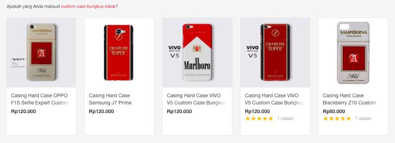 case bungkus rokok