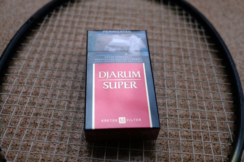 bungkus rokok djarum super